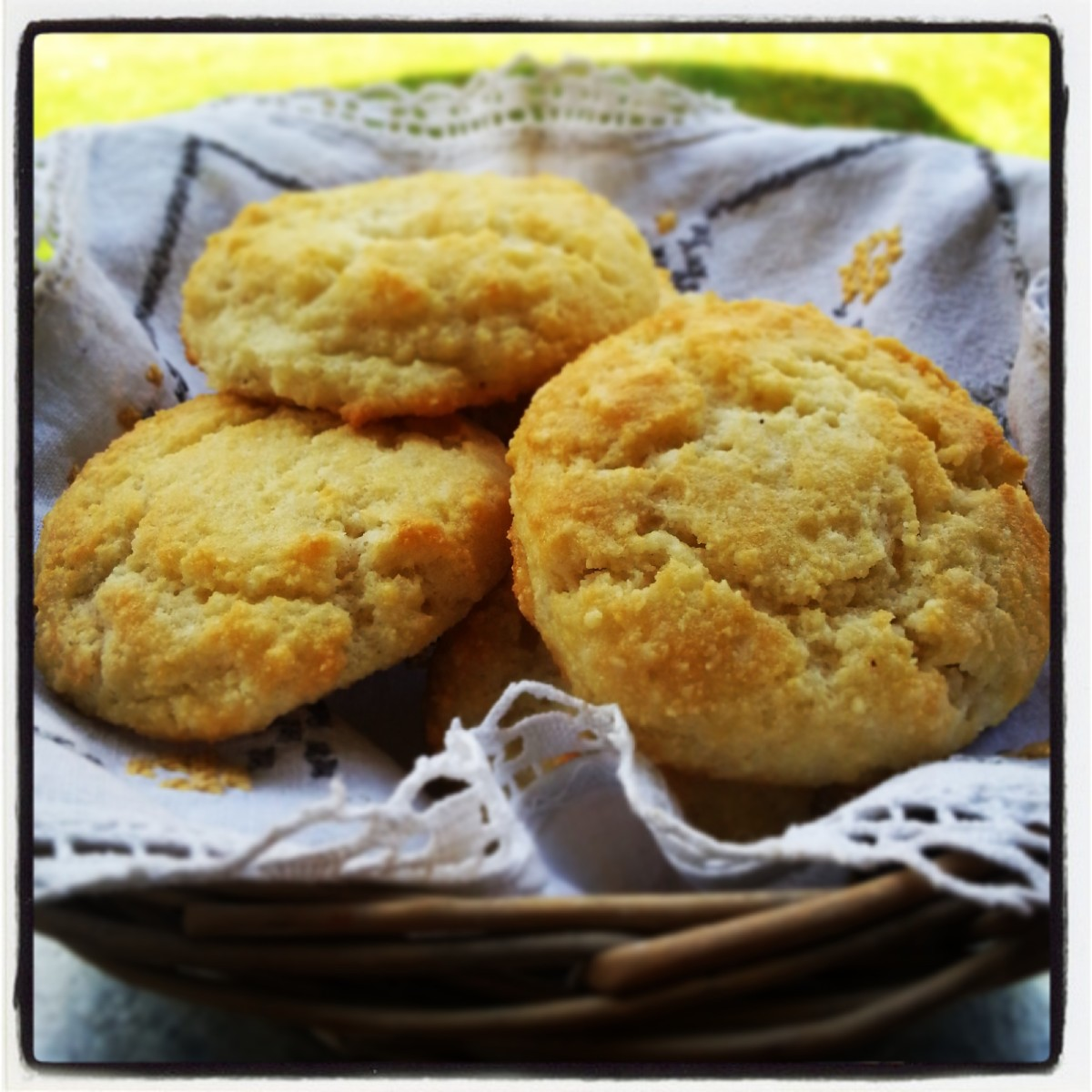 Paleo Southern Almond Biscuits