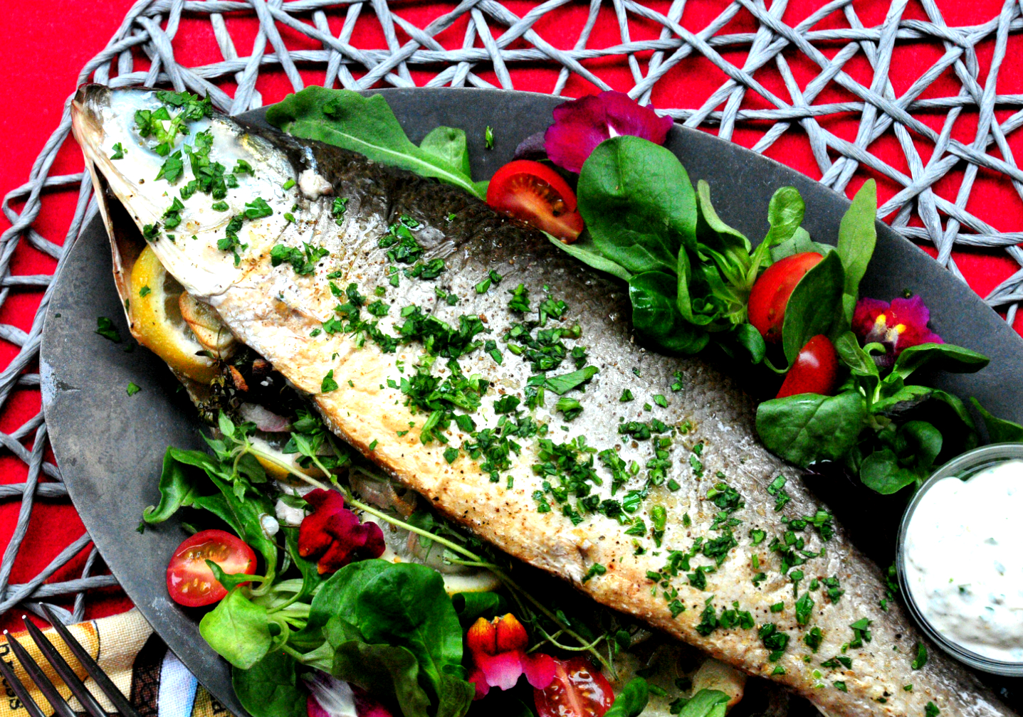 Grilled Fish With Citrus Herb Crust Recipes — Dishmaps
