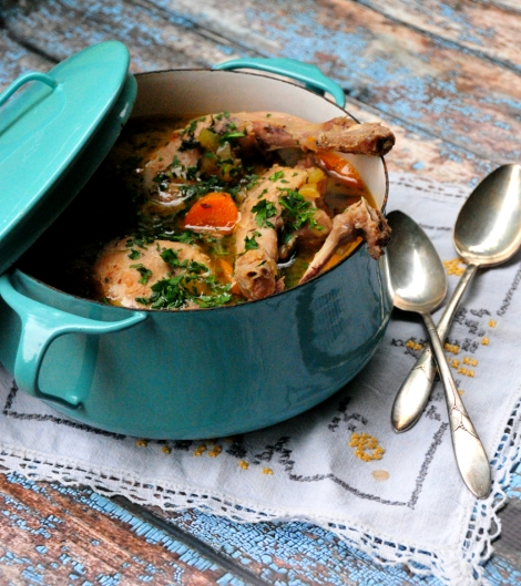 Wild Rabbit Stew-Paleo, Low Carb & Gluten Free