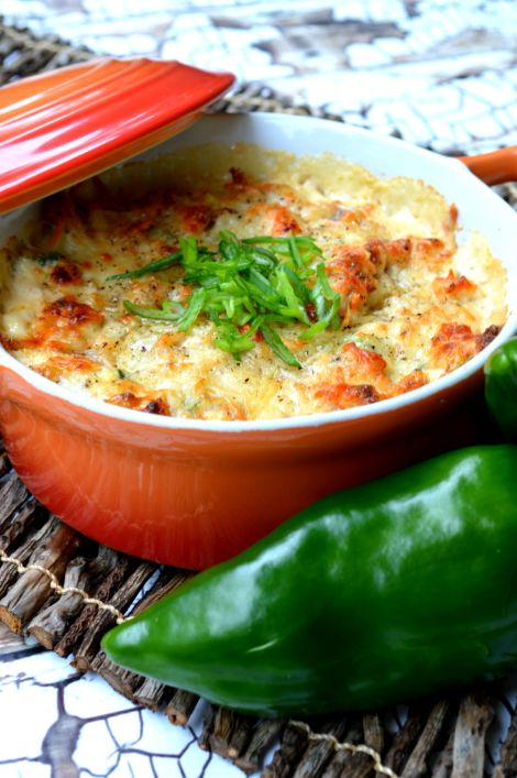 Low Carb Hot Crab Dip