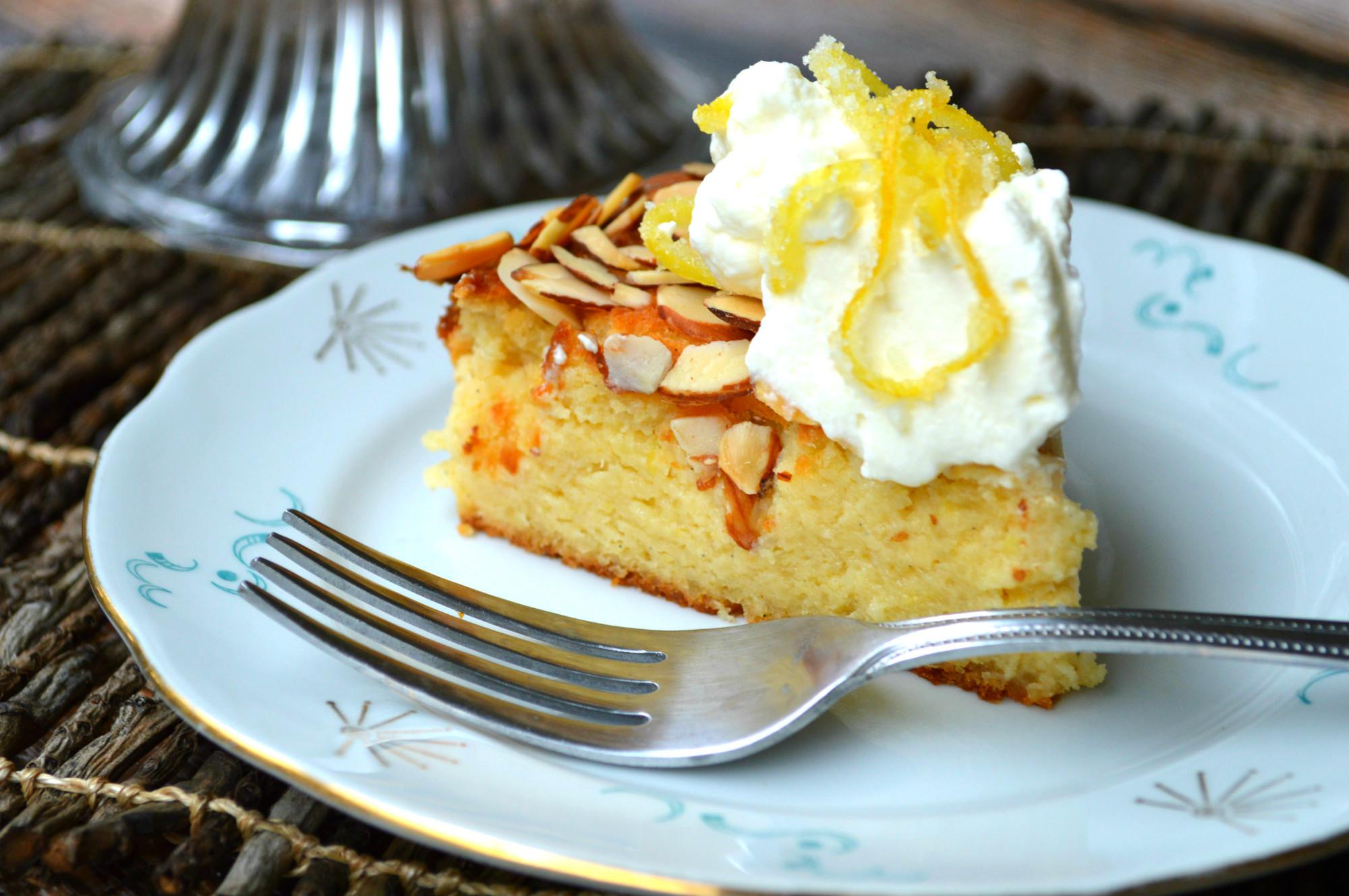 Lemon Stevia Cake