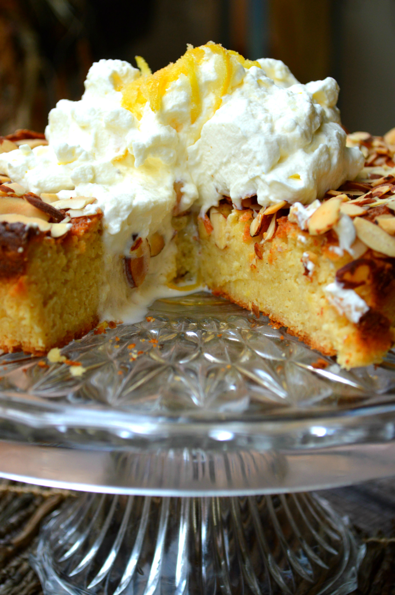 Italian Lemon Ricotta Cake The Primitive Palate