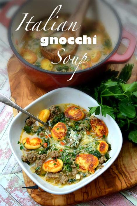 Low Carb & Keto Gnocchi Soup! Olive Garden Copy Cat!